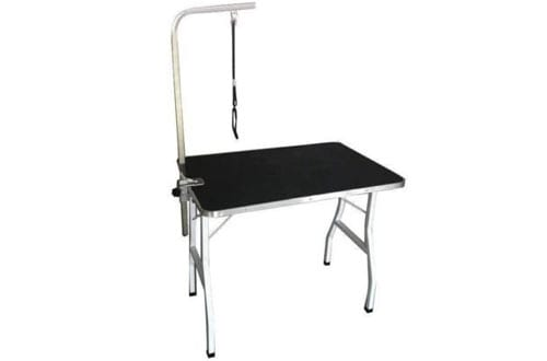 Heavy Duty Large Adjustable Pet Dog Grooming Table W/Arm Noose