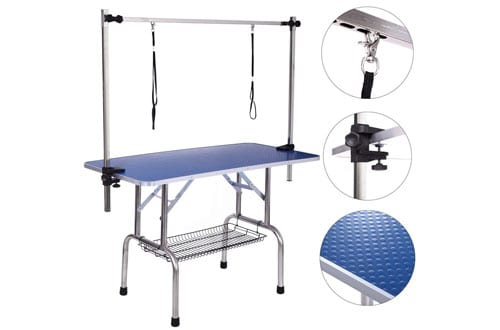 Haige Pet Adjustable Dog Grooming Tables