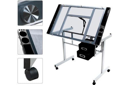 Adjustable Drafting Drawing table