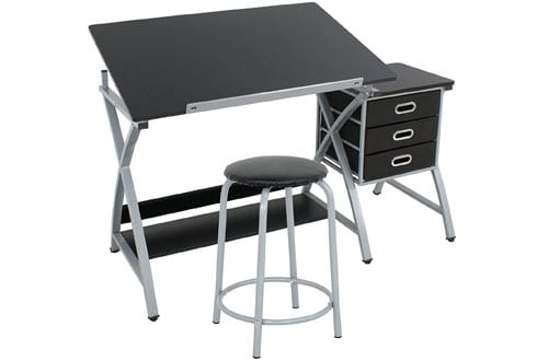 ZENY MDF Drafting Table Art