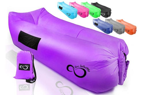 Inflatable Air Lounger Lounge Bag Chair