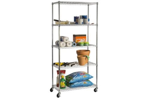 Metal Storage Shelves