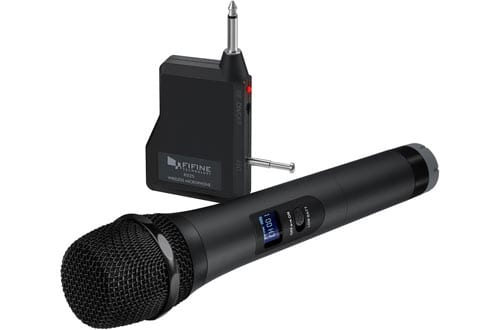 Handheld Wireless Microphones for Karaoke