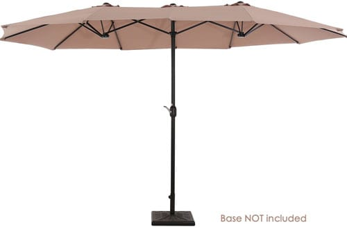 UPERJARE 14 Ft Outdoor Patio Umbrella
