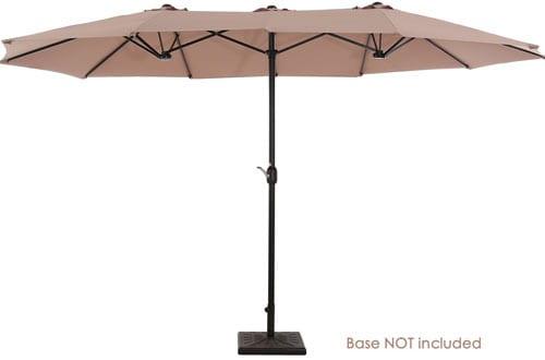 UPERJARE 14 Ft Outdoor Patio Umbrella