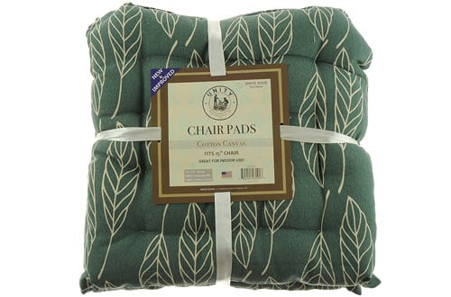 Cotton Canvas Chair Pads