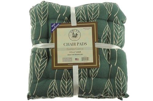 Cotton Canvas Chair Pads