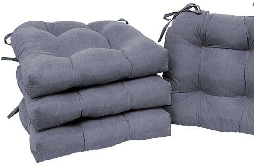 Modern Microfiber Soft Dining Chair Cushions