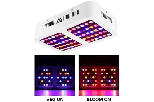 MORSEN Reflector-Series 600W LED Grow Light Full Spectrum for Indoor Plants