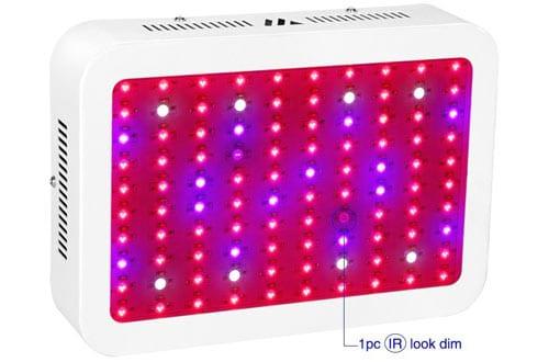 Dimgogo LED Grow Light, 1000W Full Spectrum Grow Lamp With UV&IR