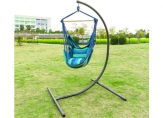 Heavy-Duty Hanging Hammock Chair C Stand