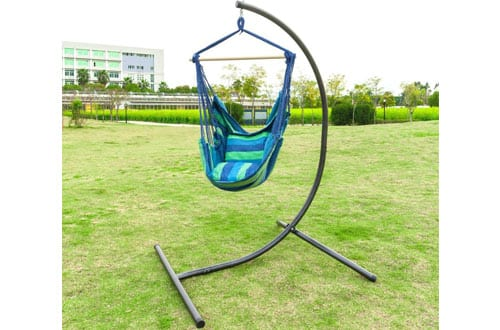 OnCloud Heavy Duty Hanging Hammock Chair C Stand