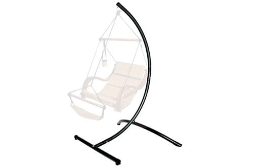Hanging Chair Stand In Bronze