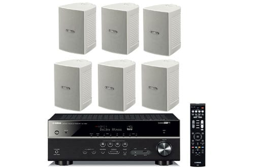 Yamaha 7.2-Channel Wireless Bluetooth 4K Network A/V Wi-Fi Home Theater Receiver