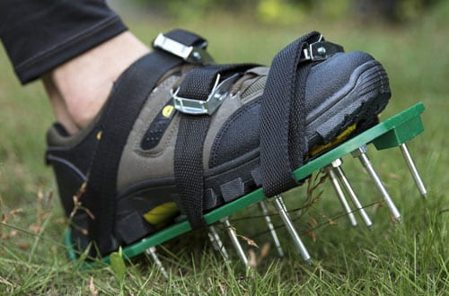 MIGAGA Lawn Aerator Spike Shoes
