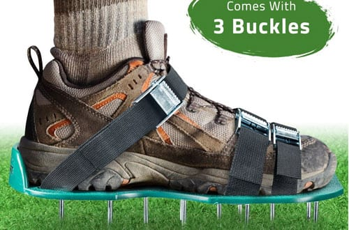 Lawn Aerator Spike Shoes – For Effectively Aerating Lawn Soil
