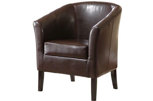 Linon Home Decor Simon Club Chair
