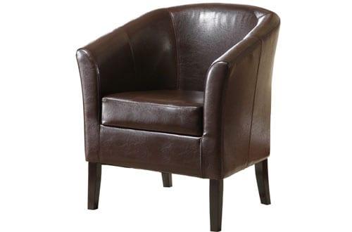 Linon Home Decor Simon Club Chair