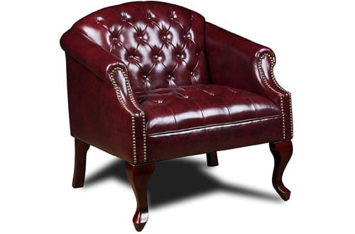 Classic Traditional Button Tufted Club Chair