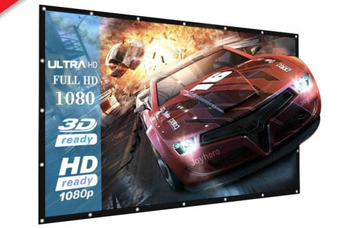 Projector Screen for HDTV/Sports/Movies