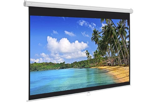 Manual Projector Projection Screen Pull Down Screen