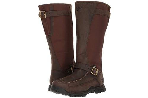 """Danner Men's Sharptail Snake Boot 17"""" Dark Brown Hunting Boot"""