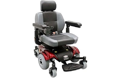 Upgraded Compact Mid - Wheel Power Chair