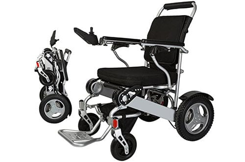 Bangeran Lightweight Folding Electric Wheelchair with Battery