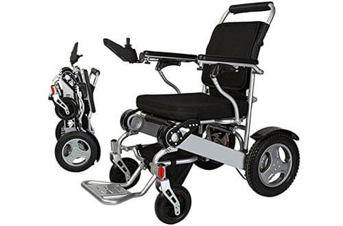 Bangeran Lightweight Folding Electric Wheelchair with Battery