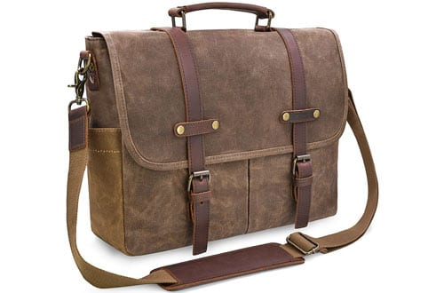 Newhey Vintage Men's Waterproof Messenger Bag