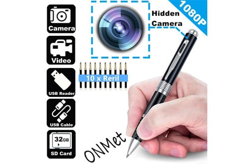 Hidden Spy Camera Pen Wifi Camera Roller Ball Pen