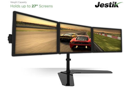 Jestik Horizon Triple Monitor Stand- LCD Monitor Stand