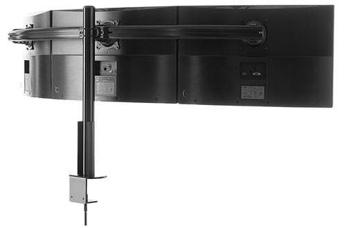 ECHOGEAR Triple Monitor Desk Mount Stand For Screens