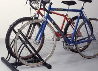 Wall-Mounted Bike Racks & Floor Stands