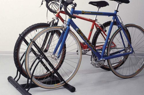 Wall-Mounted Bike Racks & Floor Stands