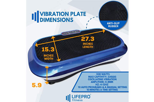 Whole Body Vibration Platform Machine