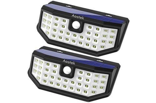 ,Outdoor Motion Sensor Waterproof Wall Light Wireless Security Night Light