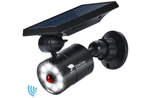 Solar Lights Outdoor Motion Sensor Aluminum,1400-Lumens Bright LED Spotlight