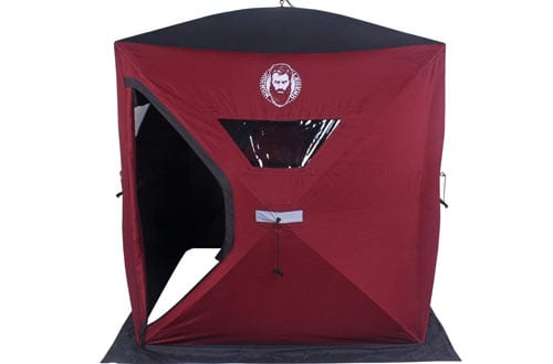 Nordic Legend Two Man Ice Shelter with FREE Bonus Ice Chairs