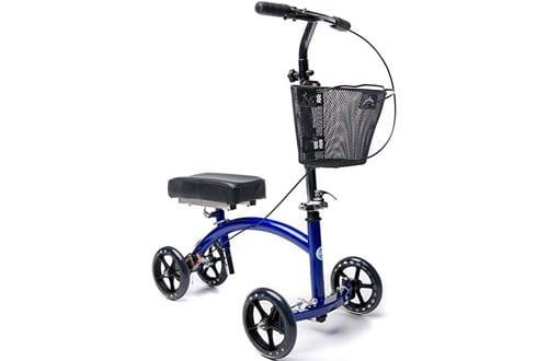 KneeRover Deluxe Steerable Cycle Knee Walker Scooter