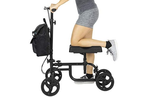 Vive Stearable Knee Scooter for Broken Leg, Foot & Ankle Injuries