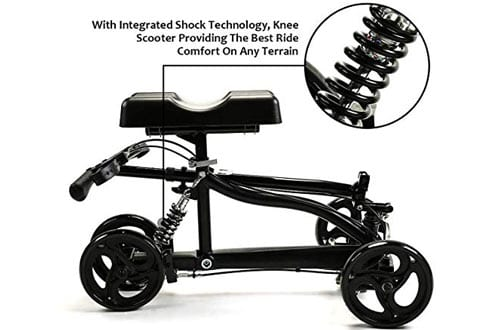 Suncom Steerable Medical Knee Walker with Lockable Brake