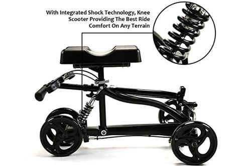 Suncom Steerable Medical Knee Walker with Lockable Brake