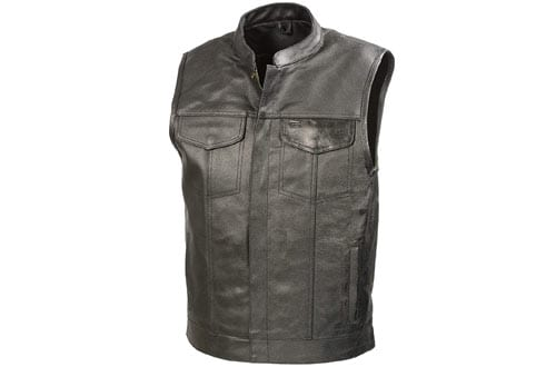 Leather Motorcycle Vests