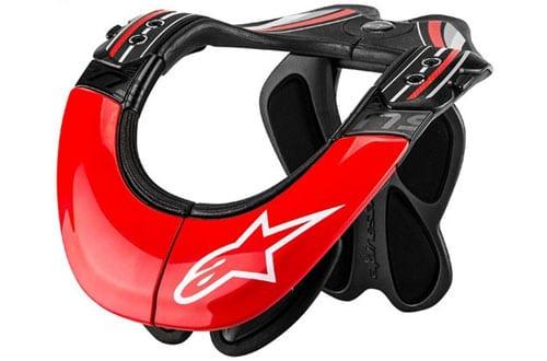 Alpinestars BNS Tech Carbon Adult Neck Brace Motocross Motorcycle Body Armor
