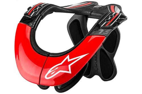 Alpinestars BNS Tech Carbon Adult Neck Brace Motocross Motorcycle Body Armor