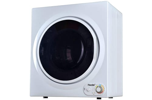 Panda 3.75 cu.ft Control Panel Downside Compact Laundry Dryer