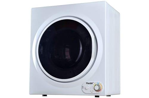 Panda 3.75 cu.ftControl Panel DownsideCompact Laundry Dryer