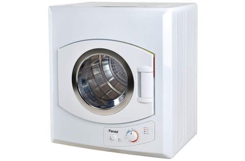 Panda 2.65 cu.ft White Compact Laundry Dryer