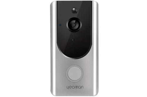 Yeoman Video Doorbell 960P HD WiFi Camera with Free Cloud Services